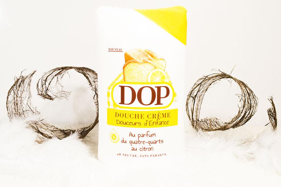 Produits chouchous : Gel douche DOP parfum quatre-quart citron