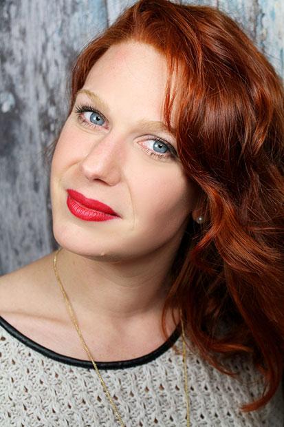 Ma nouvelle couleur de cheveux, un cuivré-rouge, by Inside coiffure