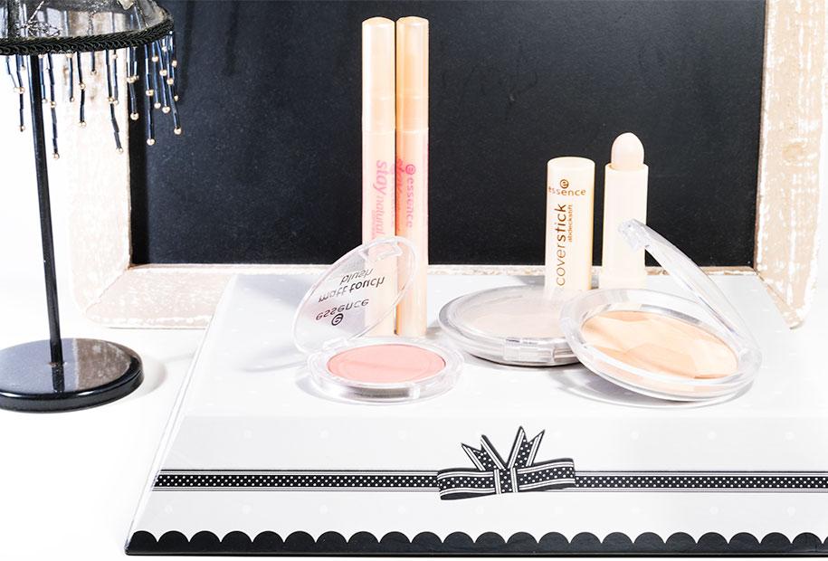 Vue d'ensemble des produits essence cosmétiques, cités dans cet article