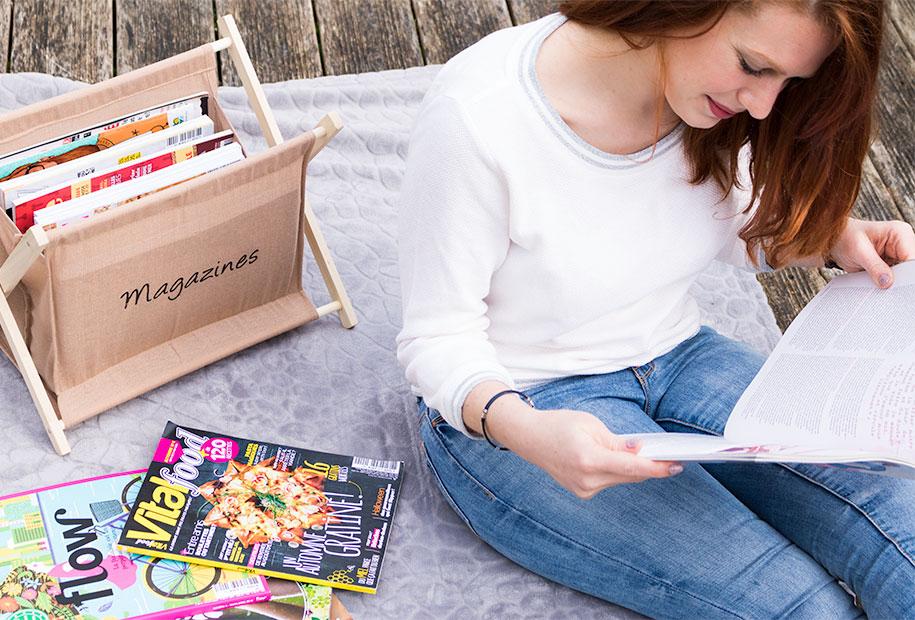 Photo pour un aperçu de l'ensemble de mes magazines