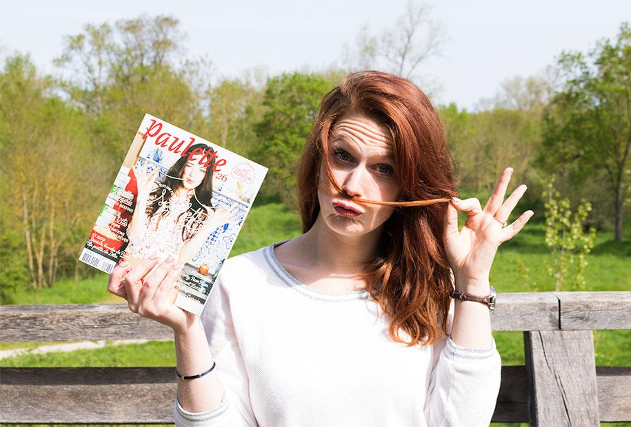 Zoom sur le magazine Paulette, Je suis une fille spaghetti