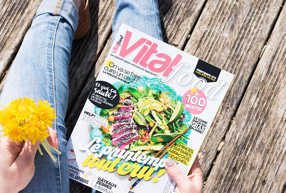 Zoom sur le magazine de cuisine Vitalfood