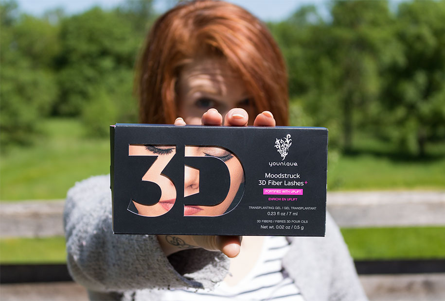 Zoom sur le packaging du mascara Younique 3D