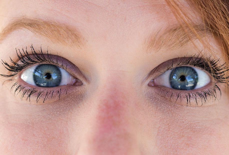 Zoom sur mes yeux pour voir le résultat du mascara Younique 3D