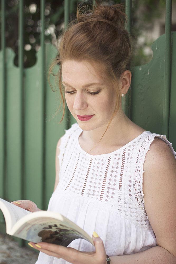 Un moment de lecture en été