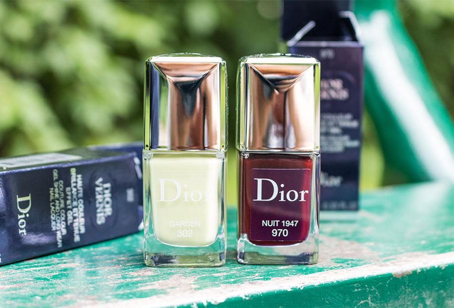 Zoom sur mes deux vernis Dior