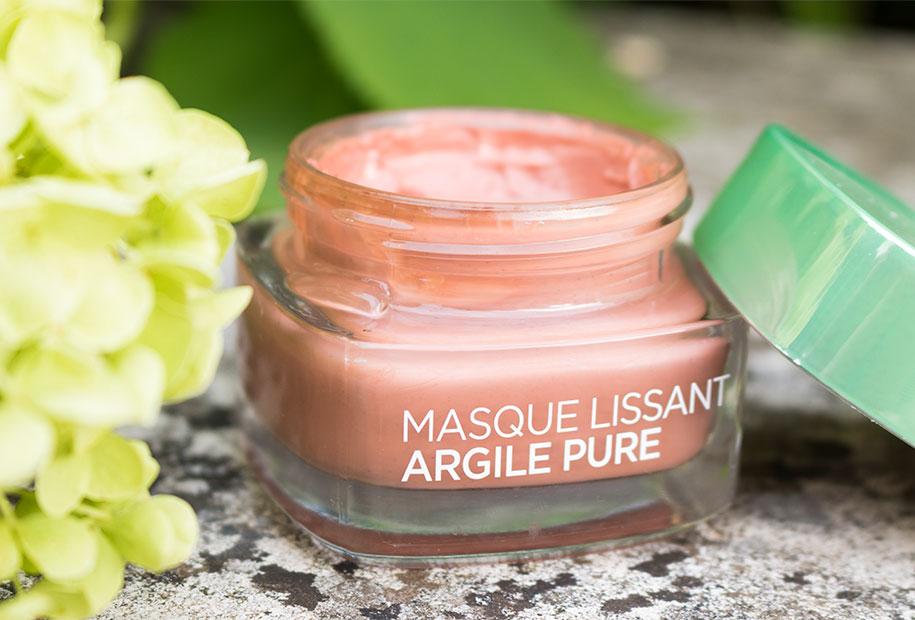 Photo du masque l'Oréal à l'argile pure et aux algues rouges
