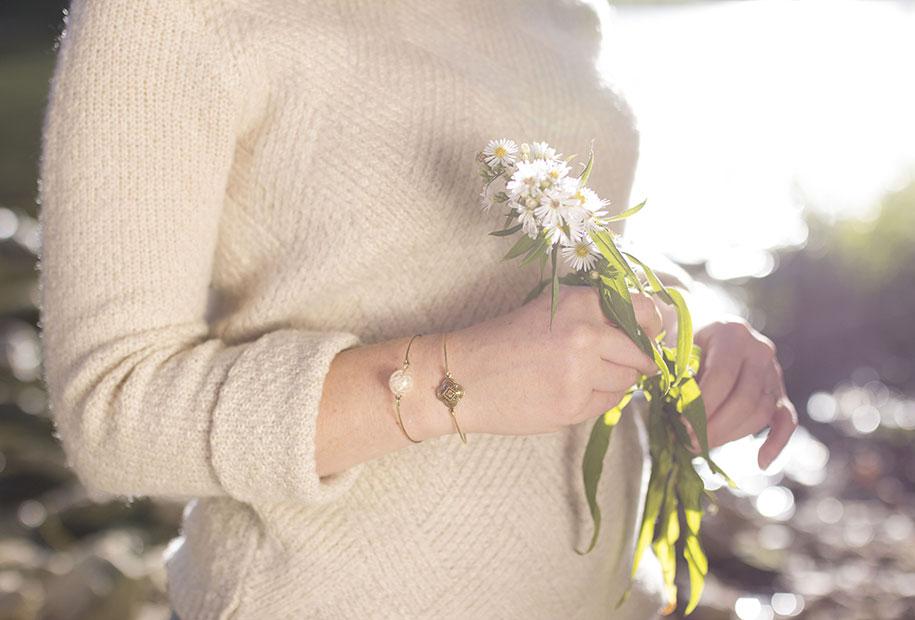 Zoom sur les bracelets naturels de MadamLili