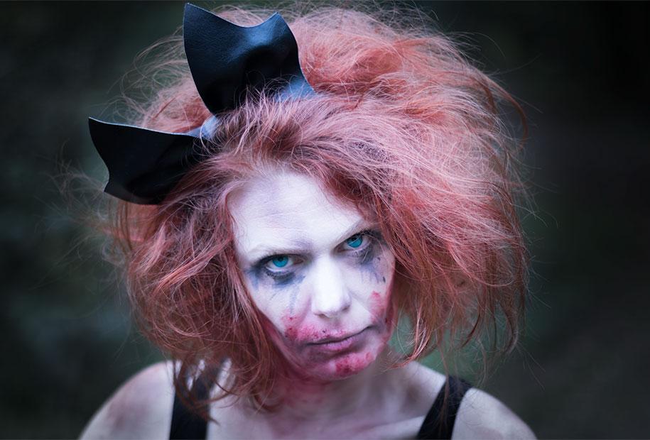Coiffure zombie facile - Coiffure halloween facile ...