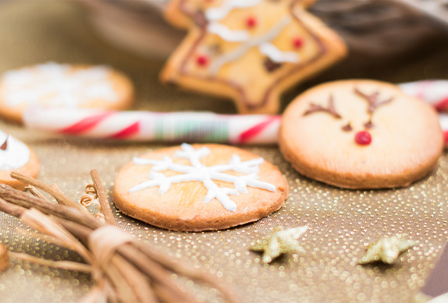 Recette 6  mes sablés de Noël !
