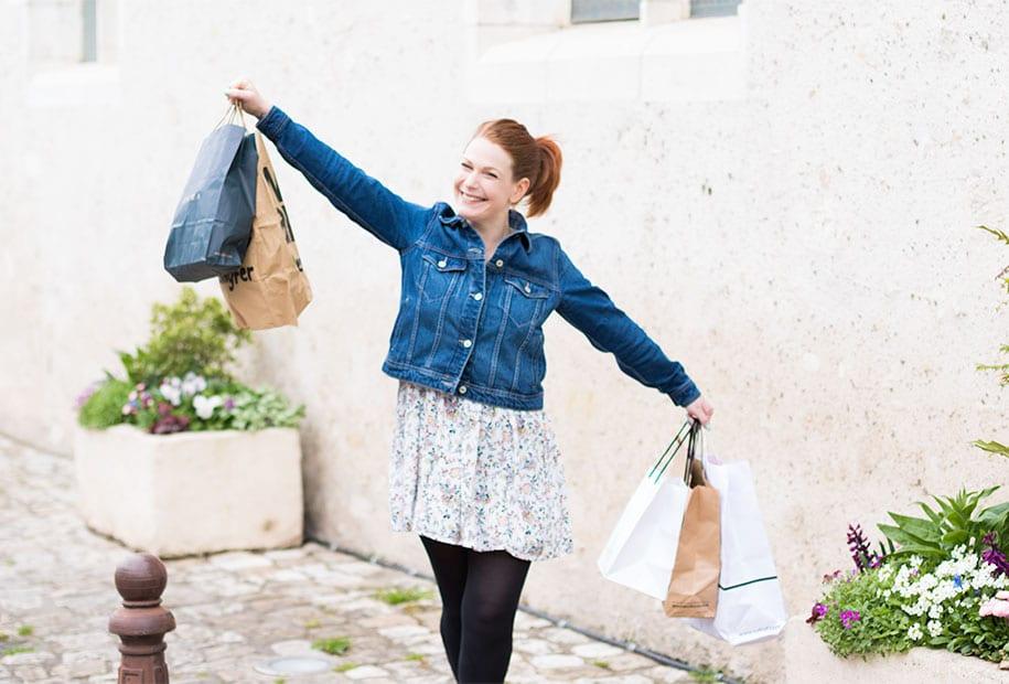 Balade shopping pour ma wishlist du printemps