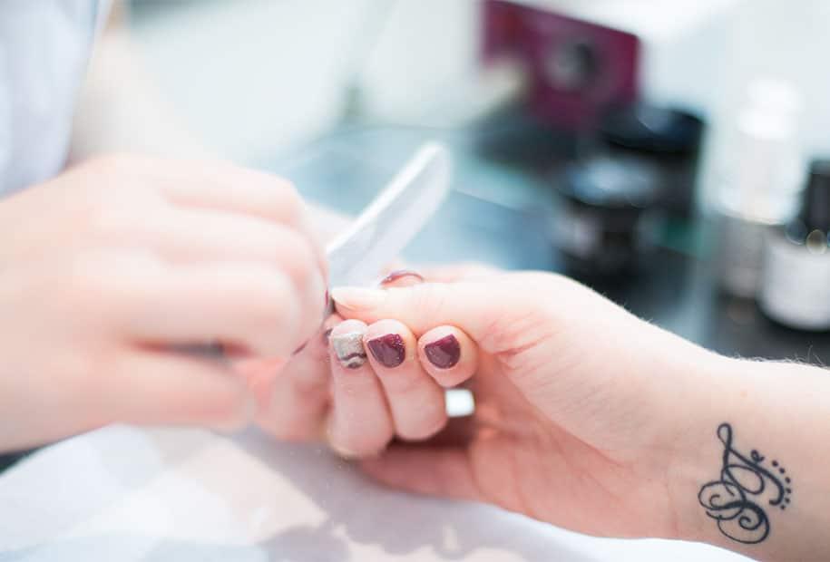 Zoom sur la lime à ongles des instituts Nail'minute par Body Minute