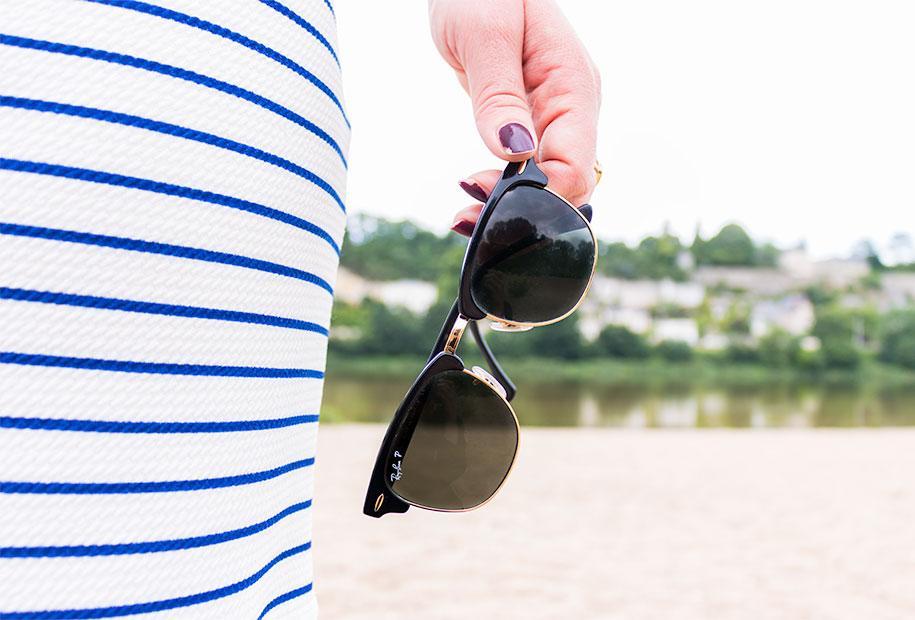 Zoom sur les lunette de soleil Rayban accessoire indispensable tout au long de l'année