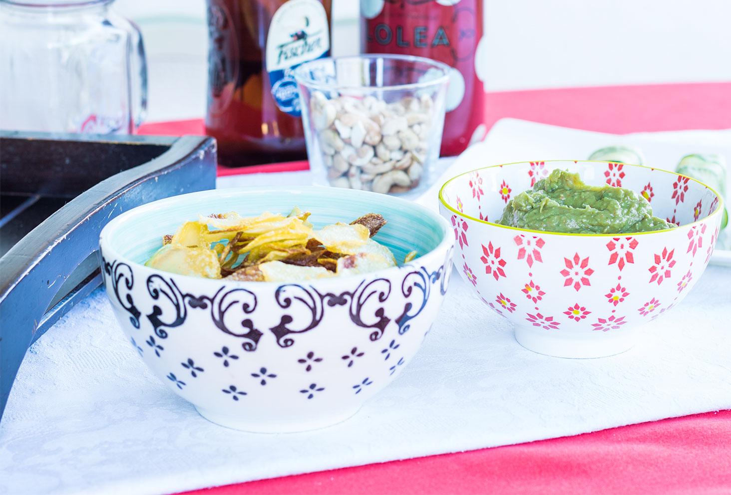 Recette de guacamole et chips maison pour l'été