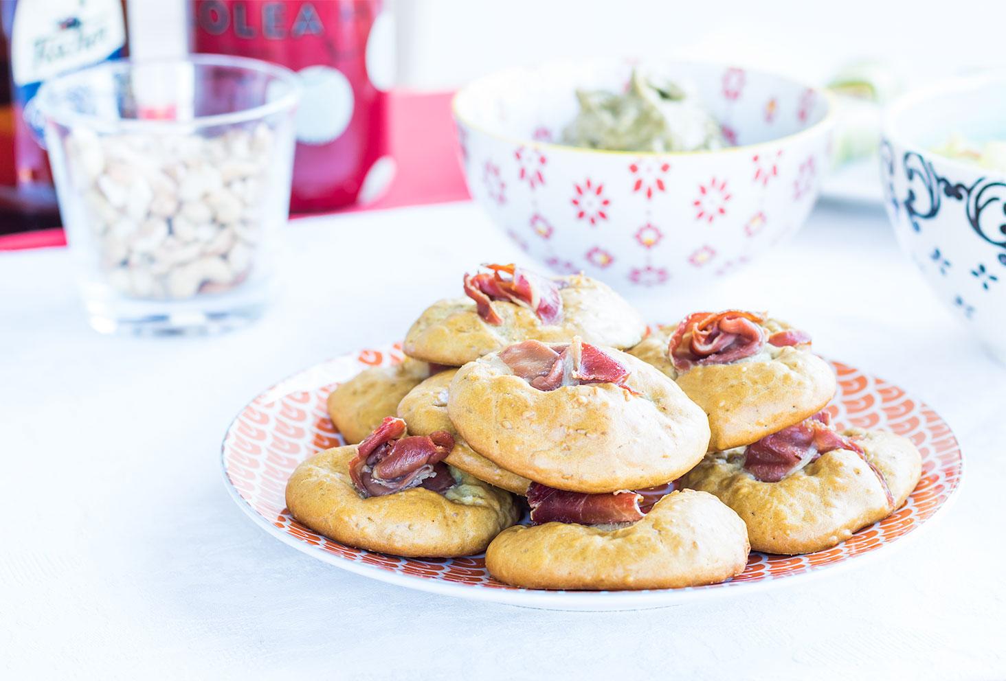 Recette des cookies salés pour l'été