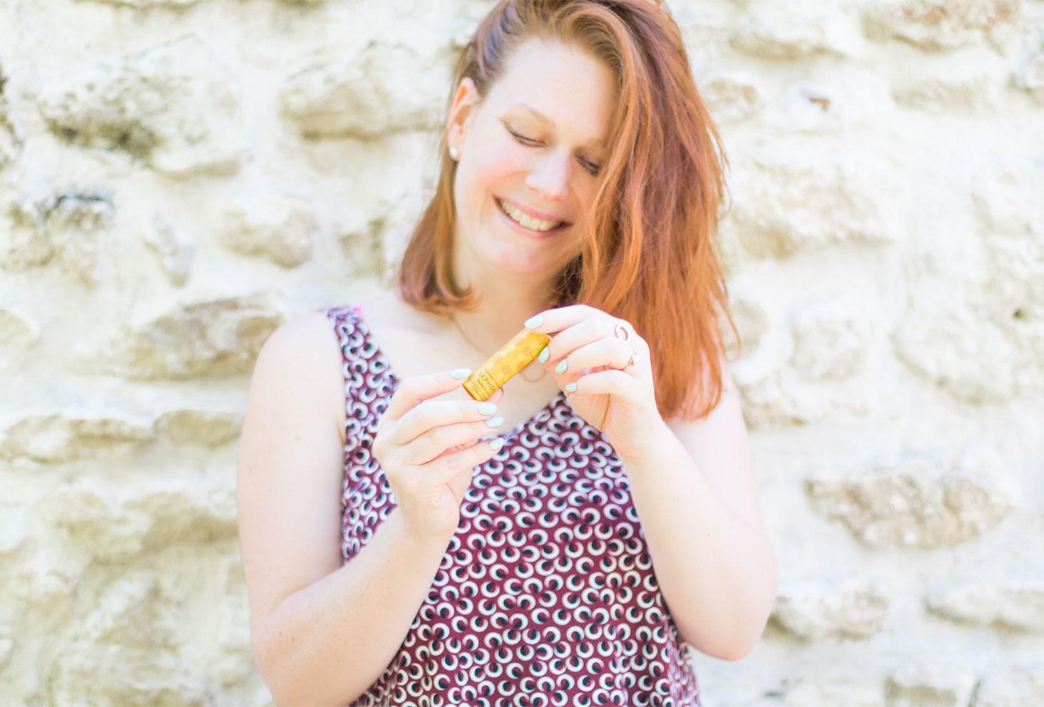 Présentation du gommage pour les lèvres au miel de la marque Sephora