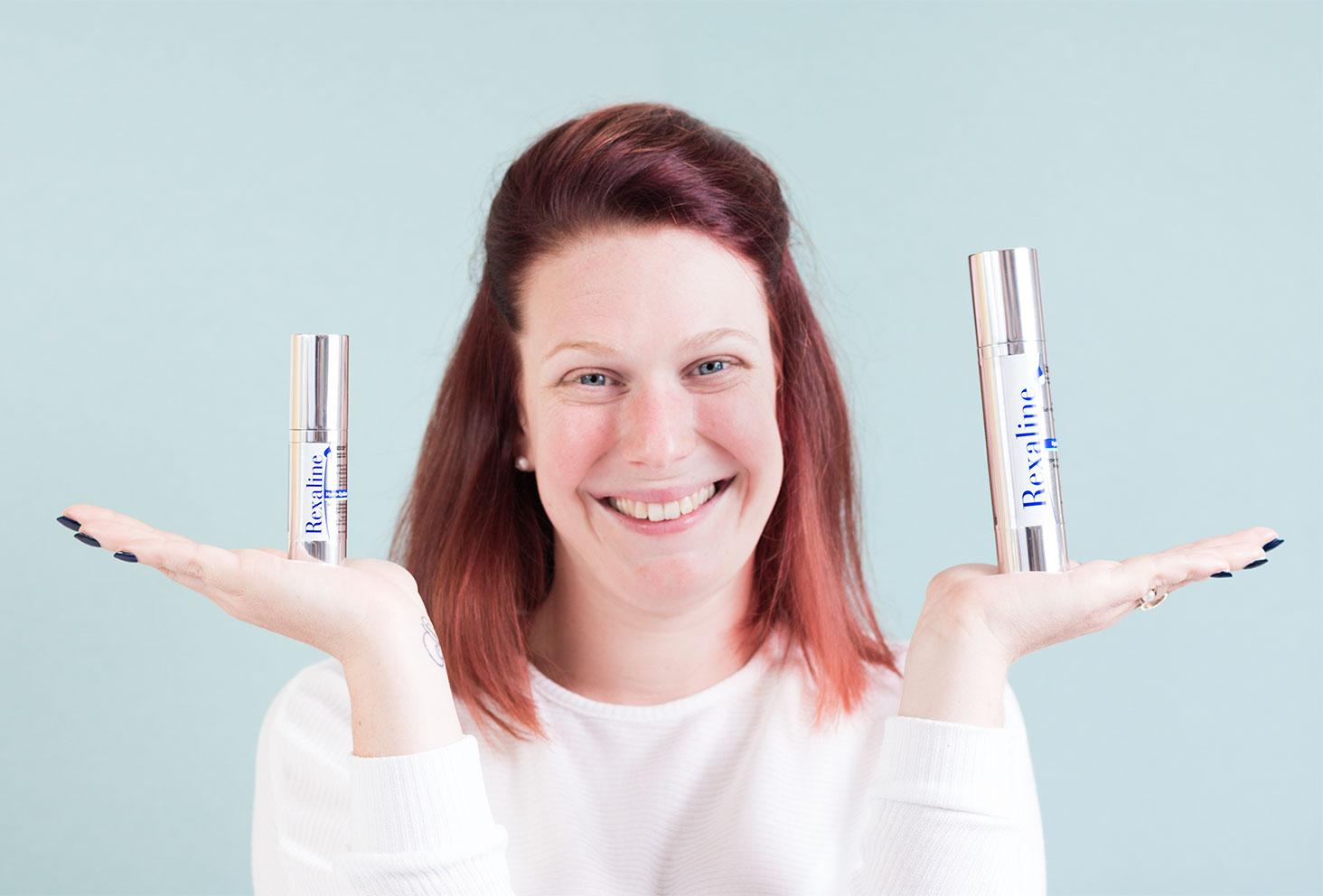 Présentation des produits visage de la marque Rexaline
