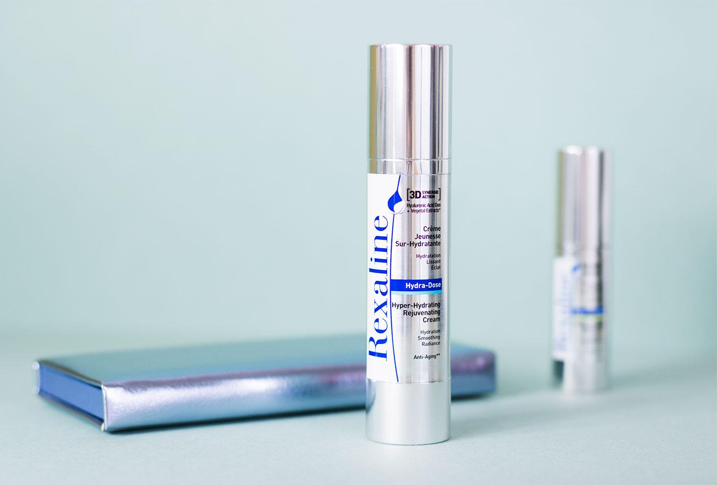 Zoom sur le packaging de la crème jeunesse visage par Rexaline