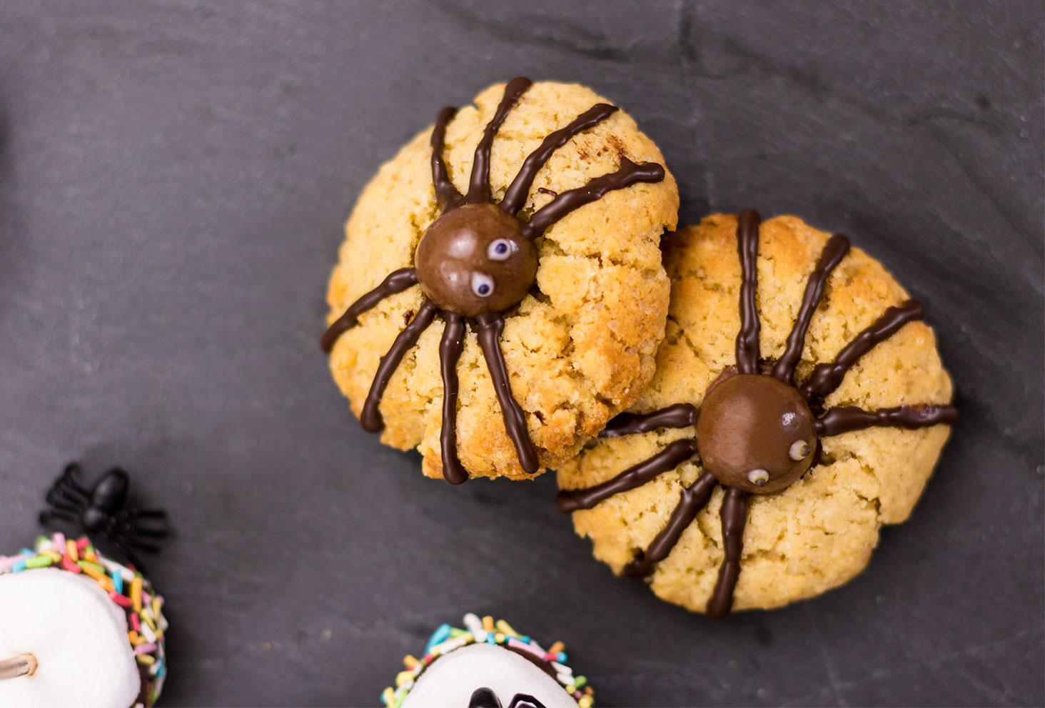 Résultat des cookies araignées pour Halloween