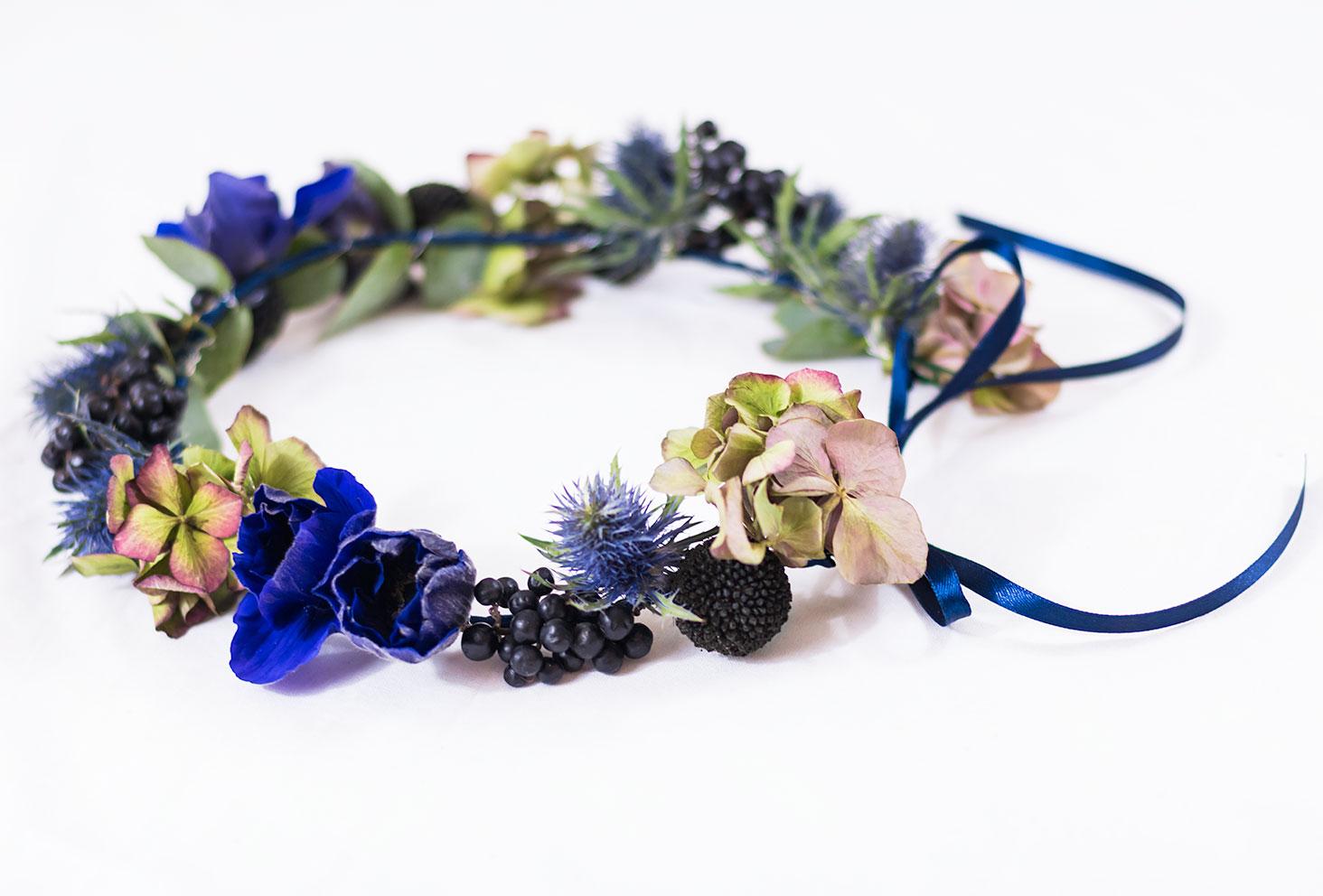 Tuto pas-à-pas pour réaliser soi-même une couronne de fleurs dans les idées DIY à faire lorsqu'on s'ennuie