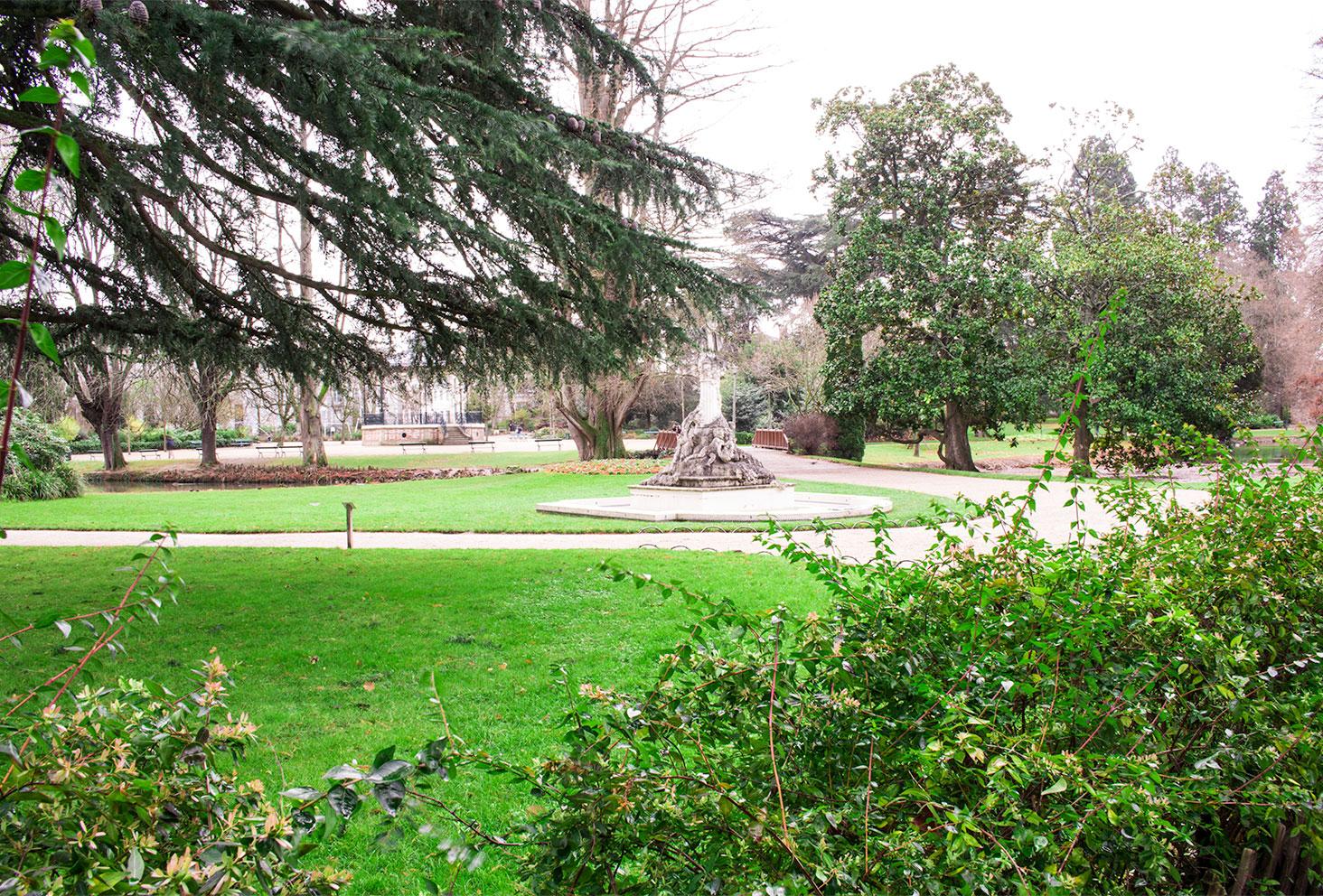 Jardin des Prébendes d'Oé de Tours