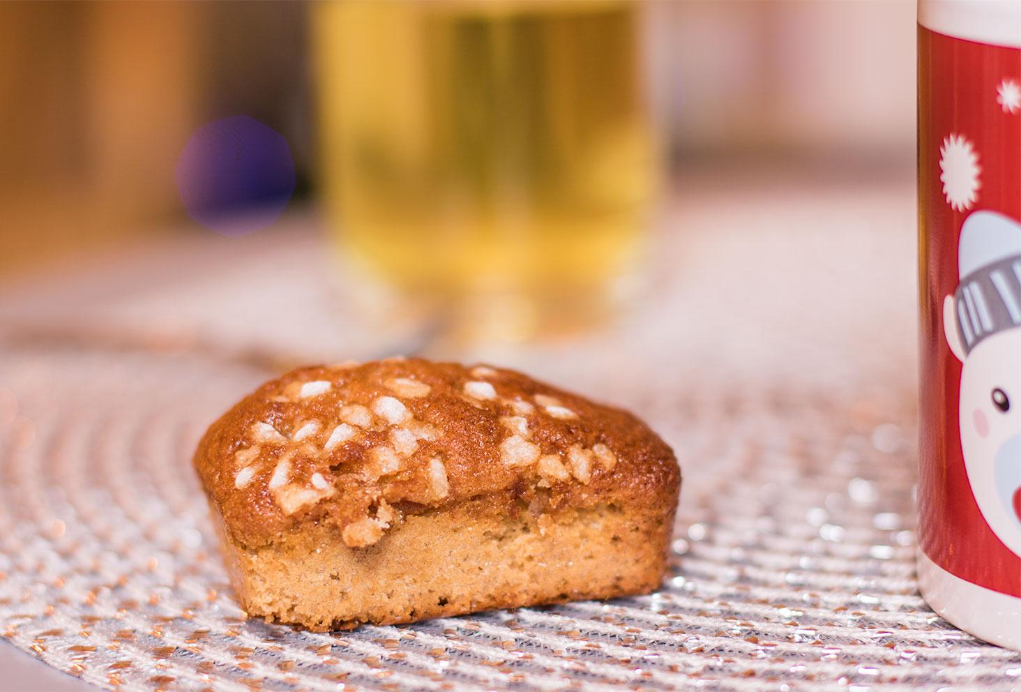 Zoom sur un mini pain d'épice réalisé par Quand Ju'lie Pâtisse