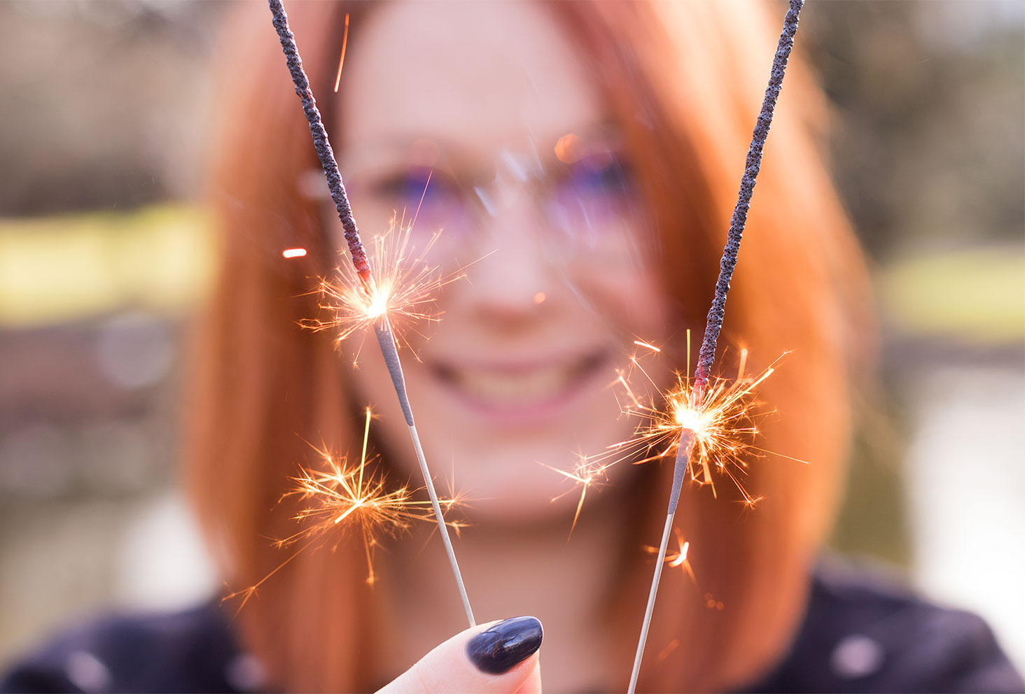 Zoom sur les bougies magique pour la nouvelle année