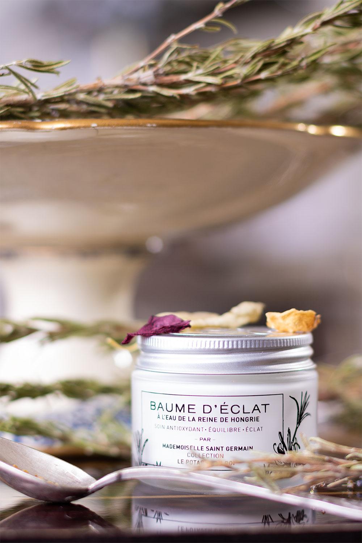 Crème de jour baume d'éclat de Mademoiselle Saint Germain en top 3 des meilleures crèmes de jour