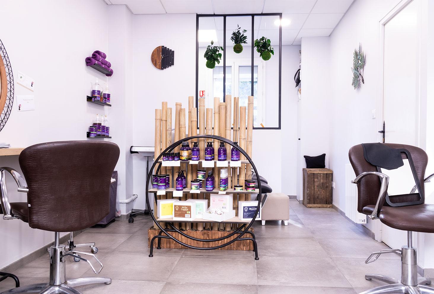 Le salon de coiffure naturel Artiste en Herbes à Tours