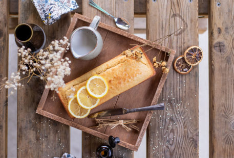La recette du cake moelleux aux graines de sésame et citron