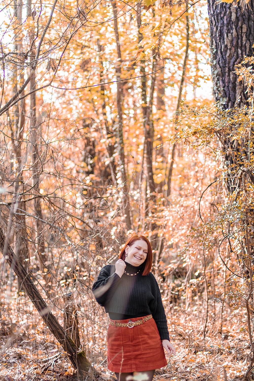 Dans les bois avec le sourire pour illustrer le TAG que préfères-tu