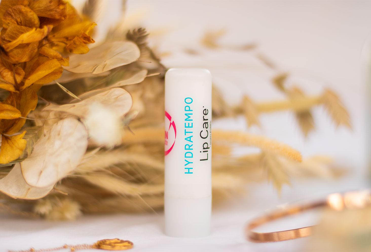 Zoom sur le baume à lèvres Hydratempo de Skin Minute