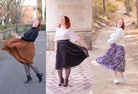Comment porter la jupe midi tendance de l'hiver 2020