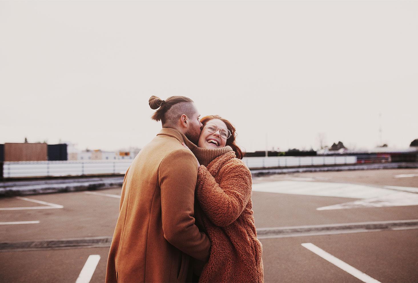 Photo street en amoureux pour la Saint Valentin avec La Shooting Box
