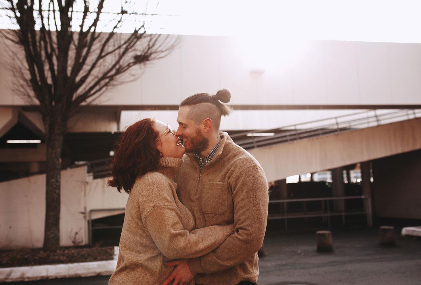 Shooting photo en amoureux pour La Shooting Box